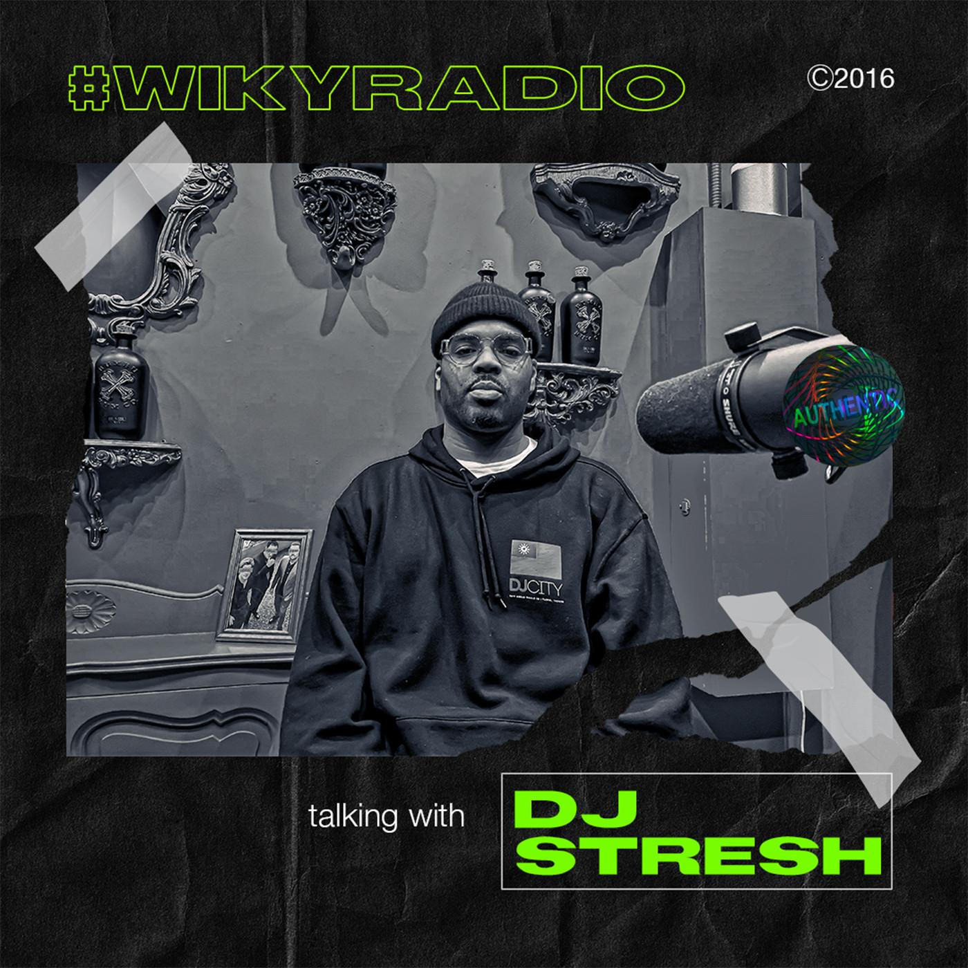 WIKY RADIO - TALKING WITH DJ STRESH