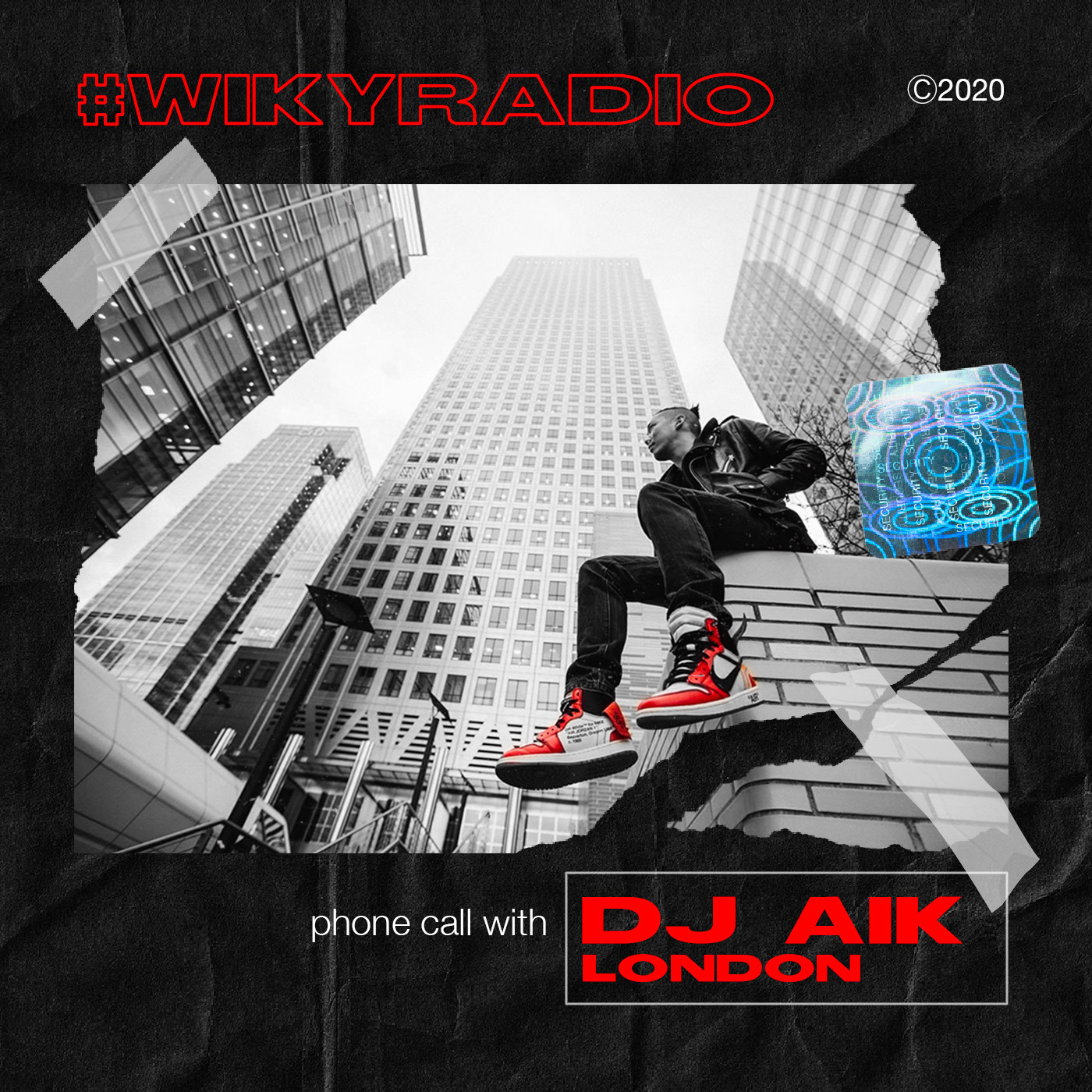 WIKY RADIO - PHONE CALL WITH DJ AIK (LONDON, UK)