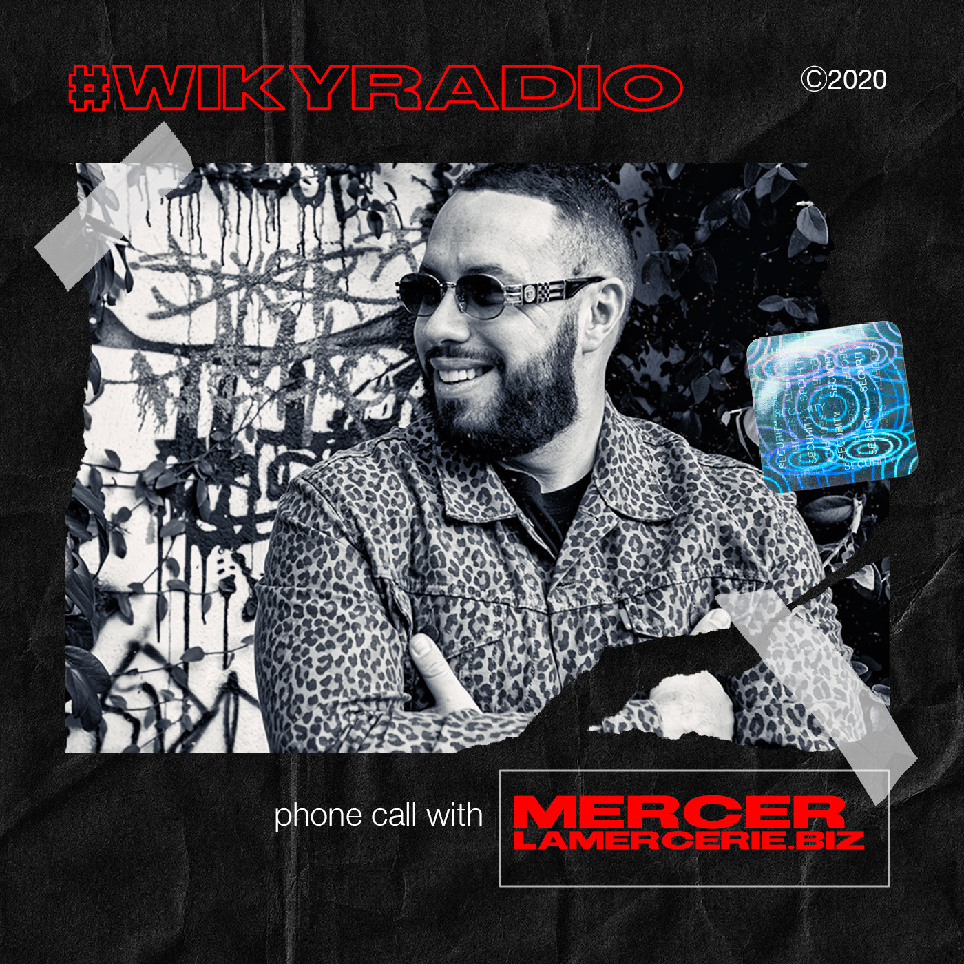 WIKY RADIO - PHONE CALL WITH MERCER (PARDON MY FRENCH)