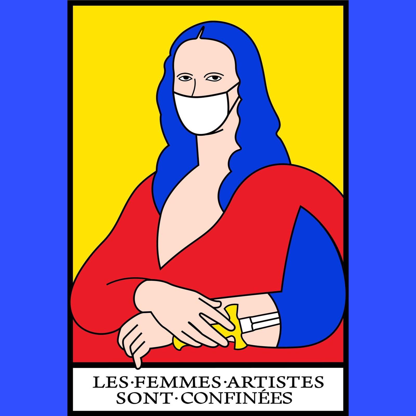 Les Femmes Artistes sont Confinées : Élise Le Garrec & Alisson MB