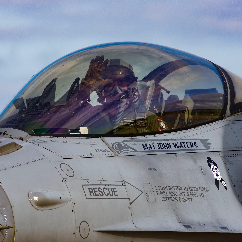 "John ""Rain"" Waters, Former F16 Demo Pilot, Commercial Pilot"