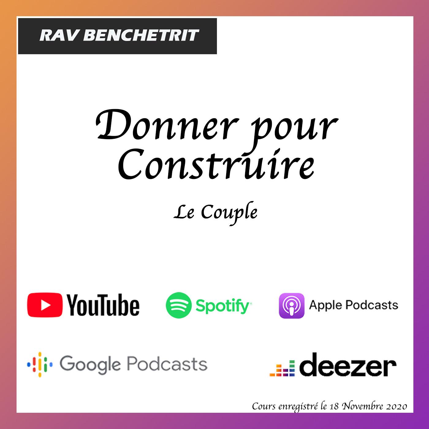 Couple :  Donner pour Construire