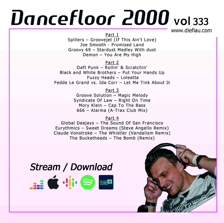 DANCEFLOOR 2000 vol 333