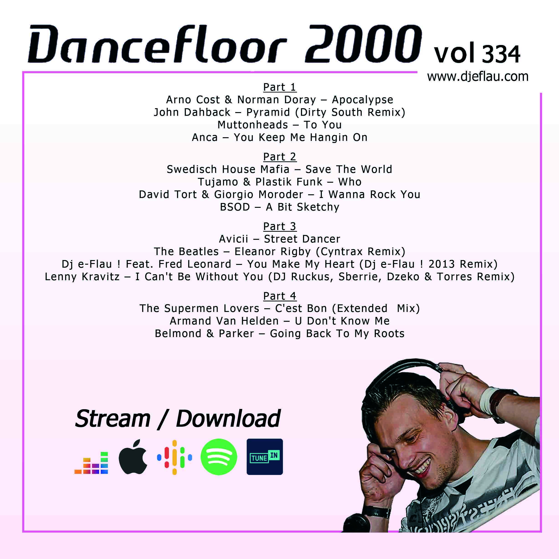 DANCEFLOOR 2000 vol 334