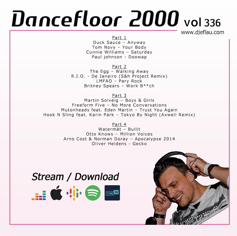DANCEFLOOR 2000 vol 336