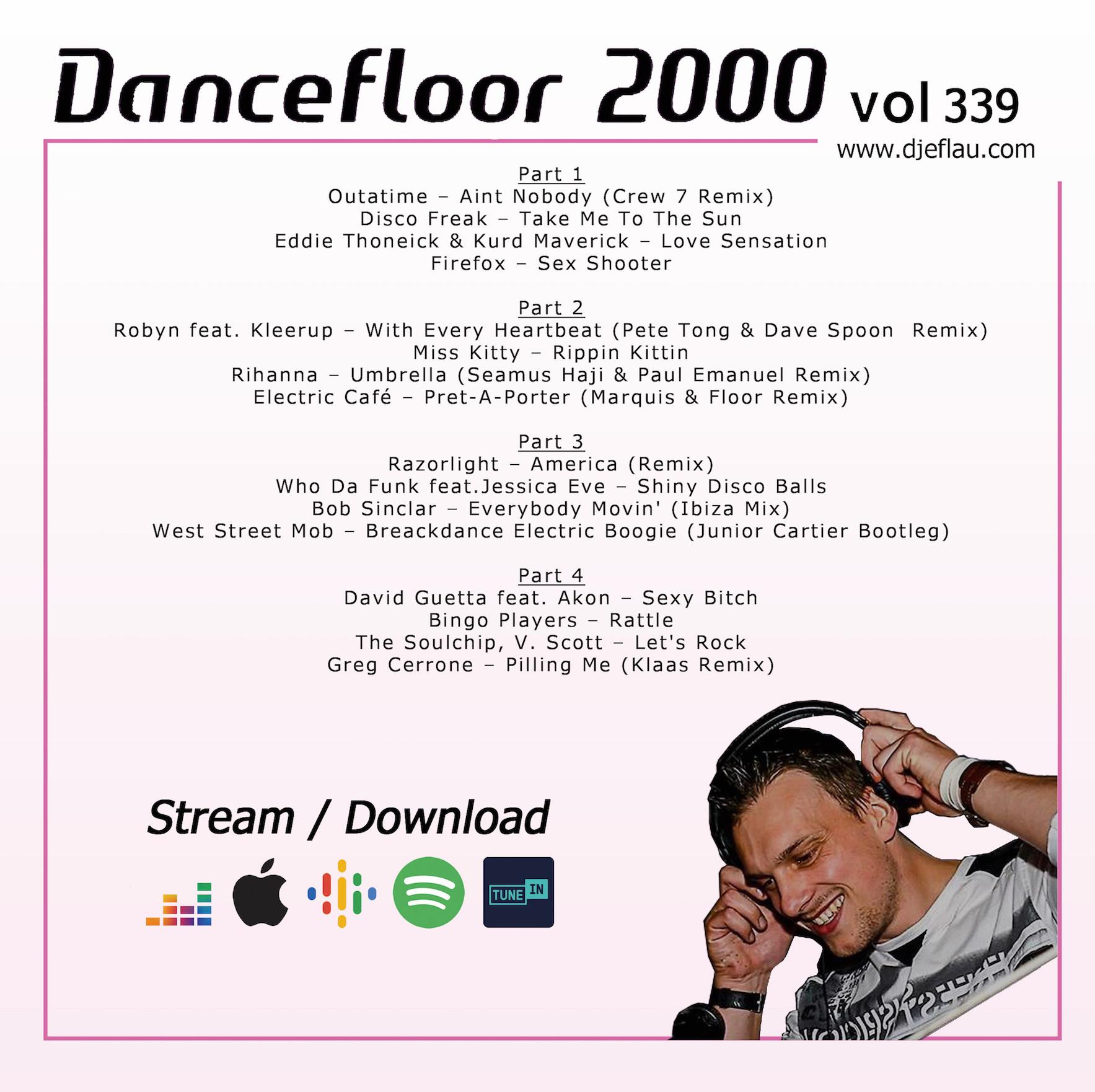 DANCEFLOOR 2000 vol 339