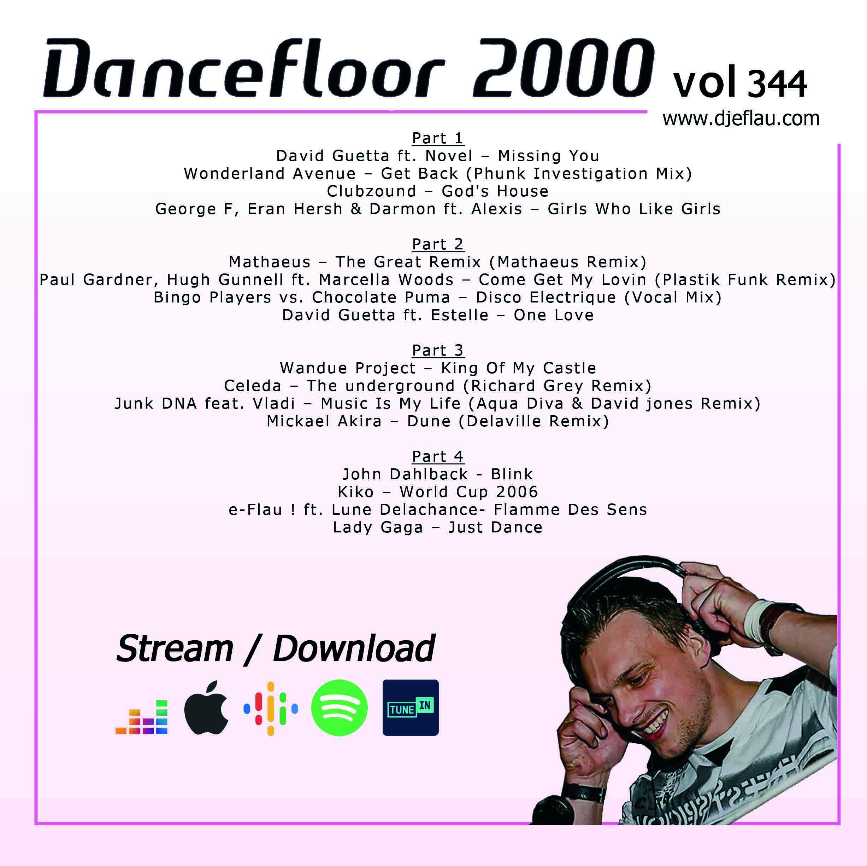 DANCEFLOOR 2000 vol 344