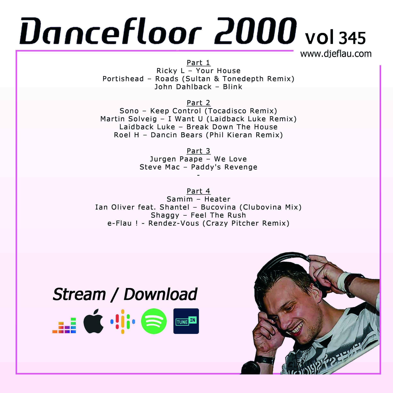 DANCEFLOOR 2000 vol 345