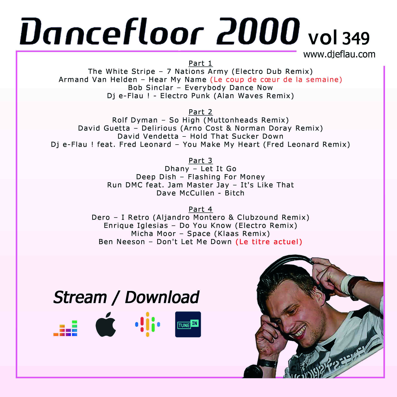 DANCEFLOOR 2000 vol 349