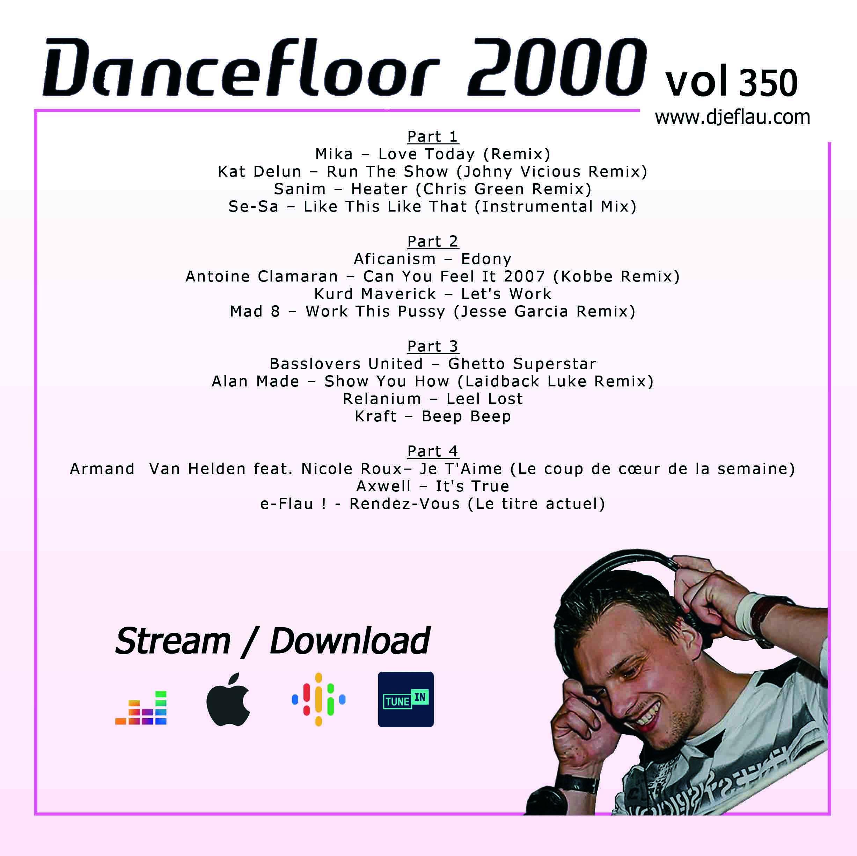 DANCEFLOOR 2000 vol 350