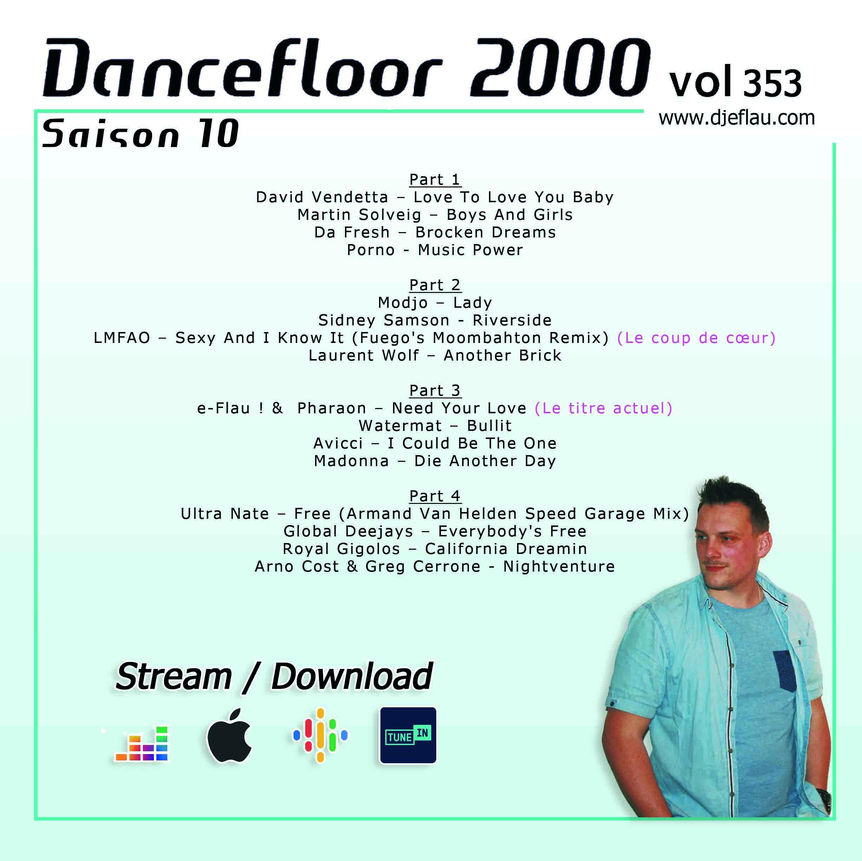 DANCEFLOOR 2000 vol 353