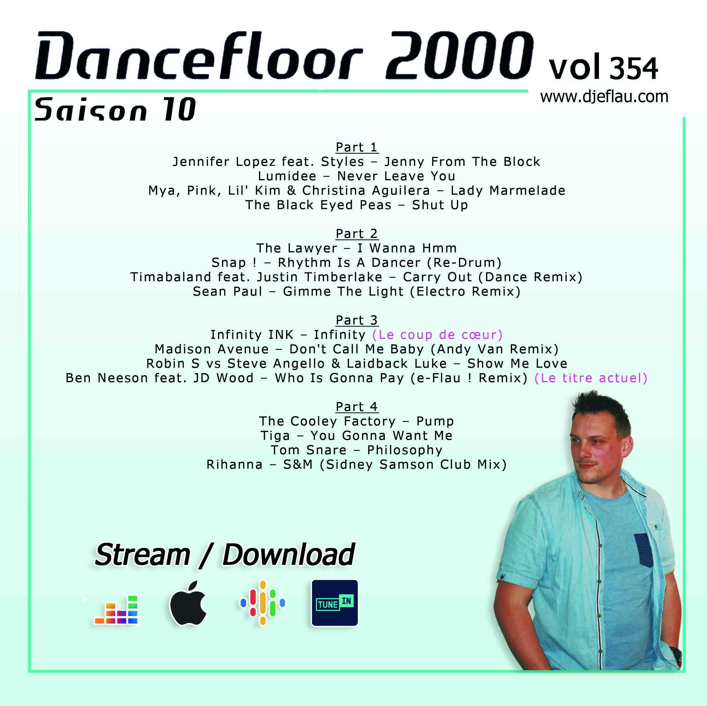 DANCEFLOOR 2000 vol 354
