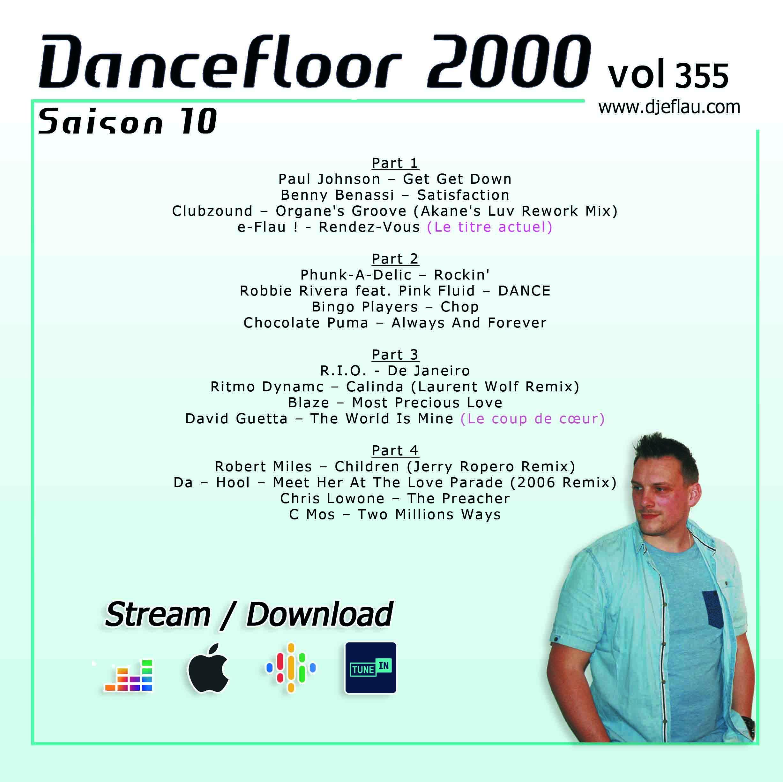 DANCEFLOOR 2000 vol 355