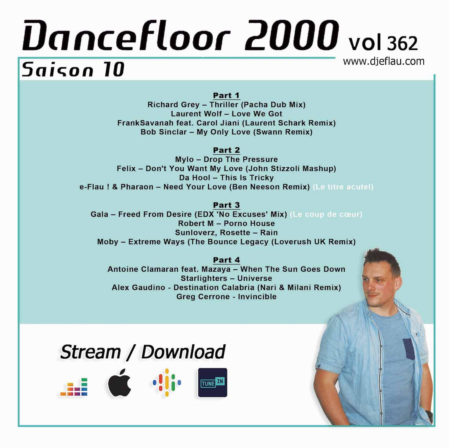 DANCEFLOOR 2000 vol 362