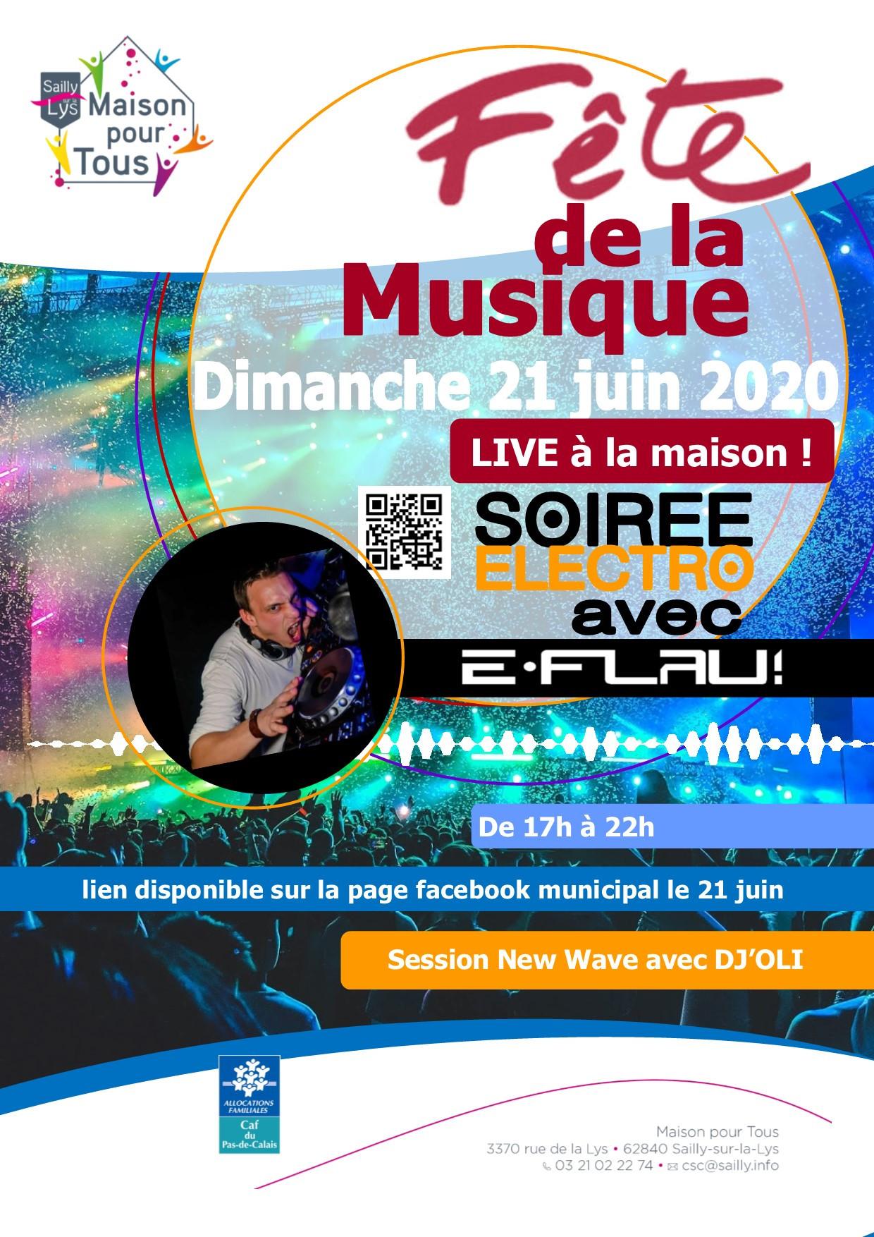 e-Flau @ Fête de la musique 2020 vol 2