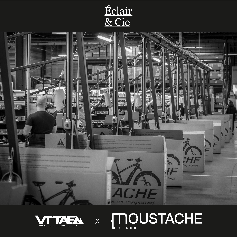 Éclair & Cie - S1EP4 - Moustache, Visite de la production