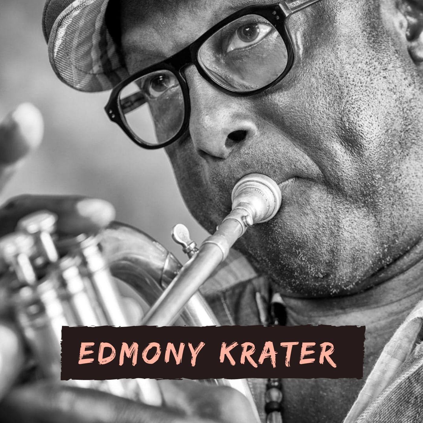Edmony Krater et le gwoka guadeloupéen