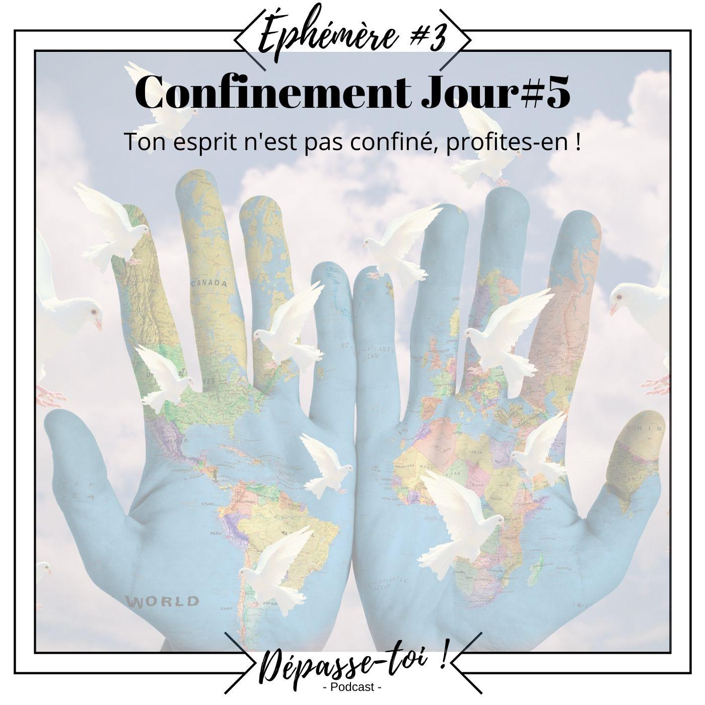 Éphémère #3 -  Ton esprit n'est pas confiné ( Jour 5)