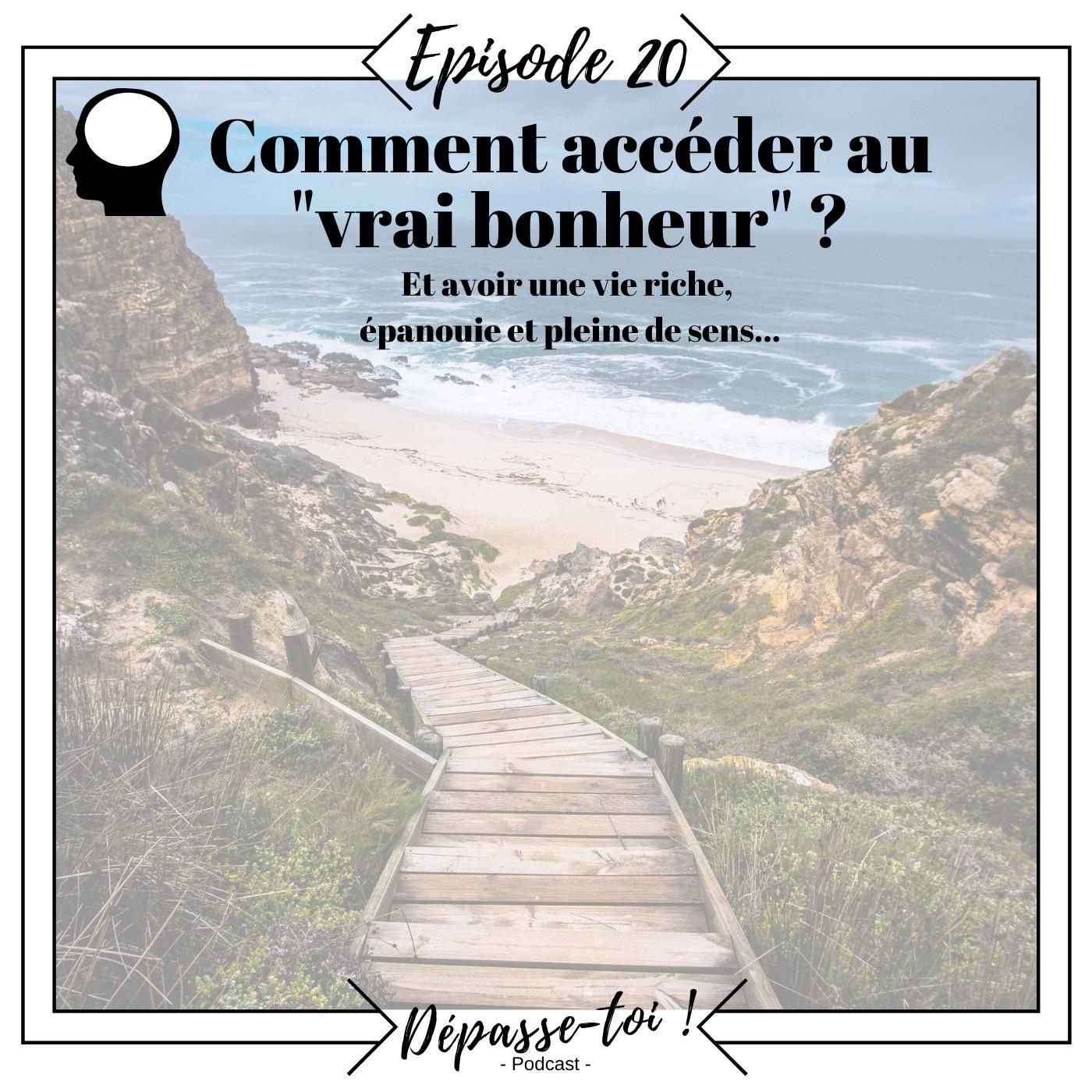 """#20 - Comment accéder au """"vrai bonheur"""" - Introduction"""