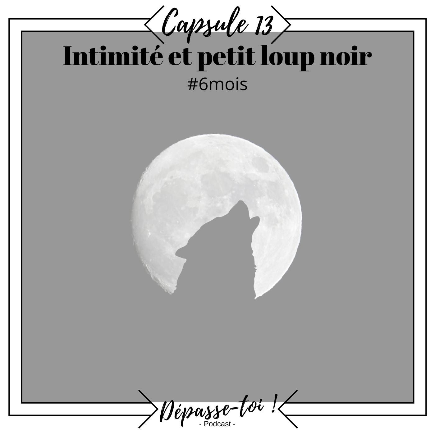 Capsule #13 -  Intimité et petit loup noir (#6mois) 🔦