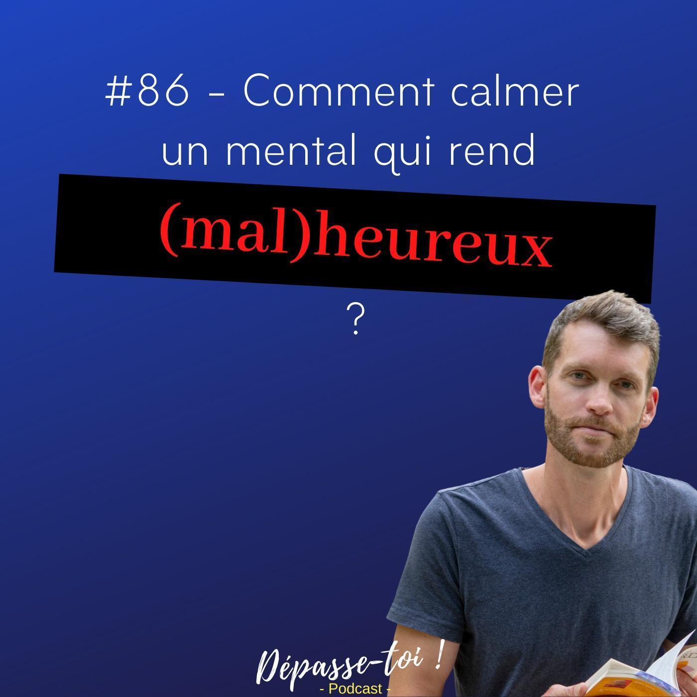 #86 -  [L'histoire de Loïc] Comment calmer un mental qui rend malheureux ?
