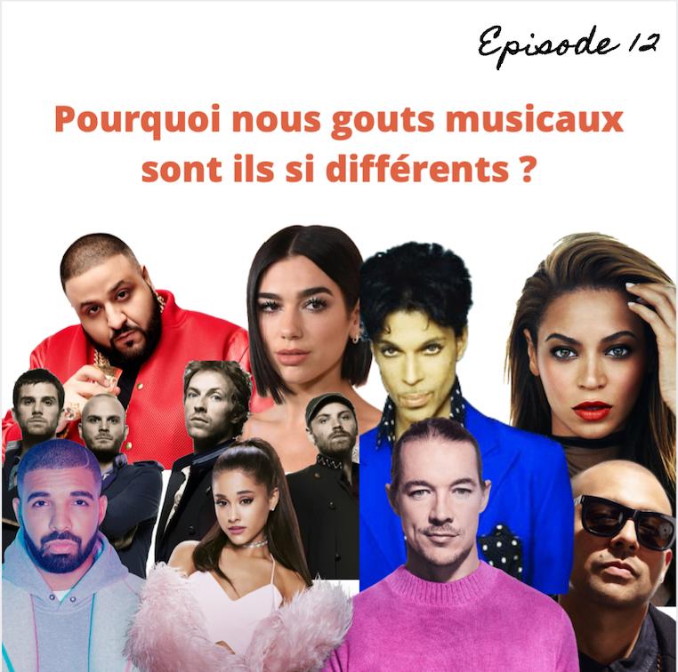 #Episode12 : Pourquoi nos goûts musicaux sont-ils si différents ?