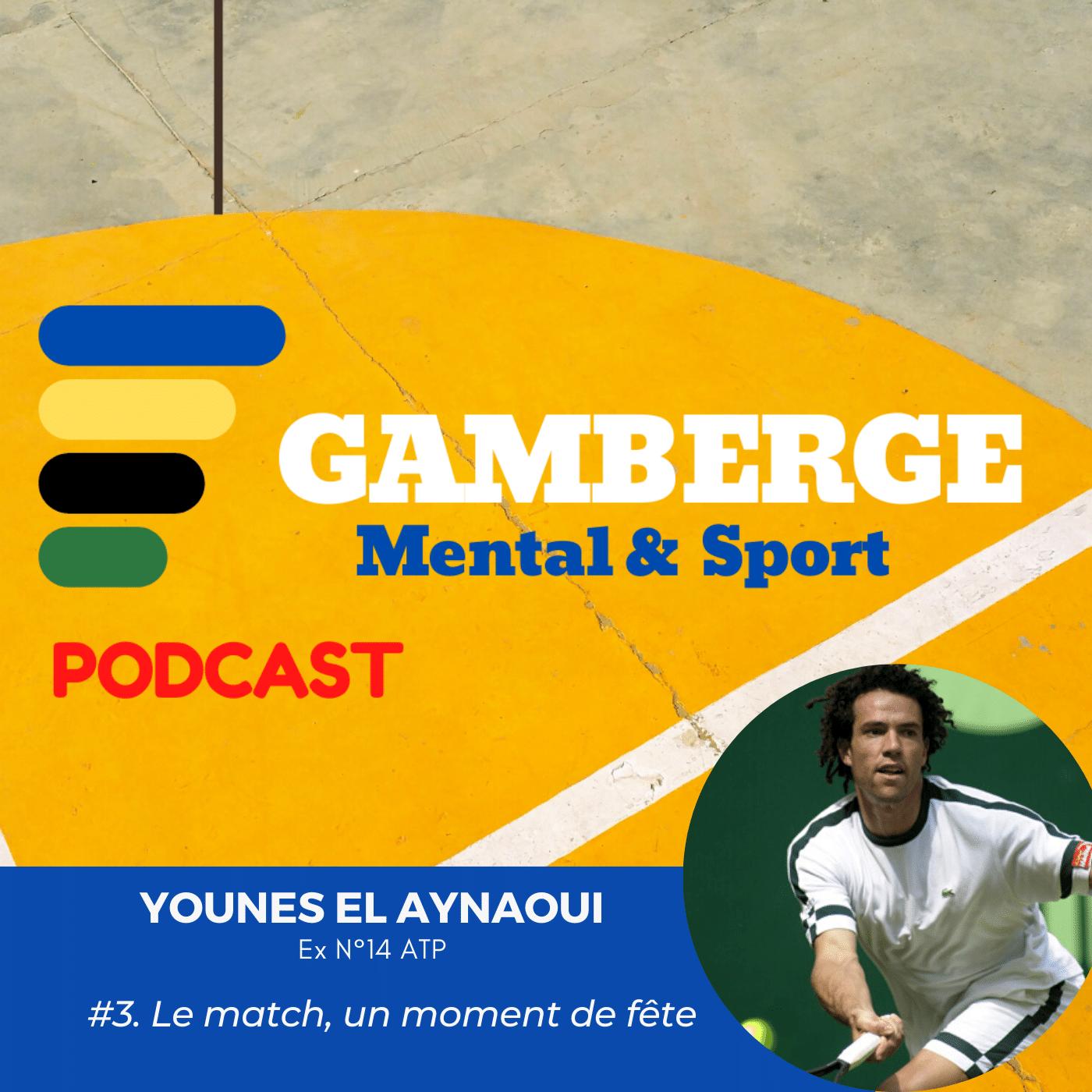 Younes El Aynaoui. Le match, un moment de fête
