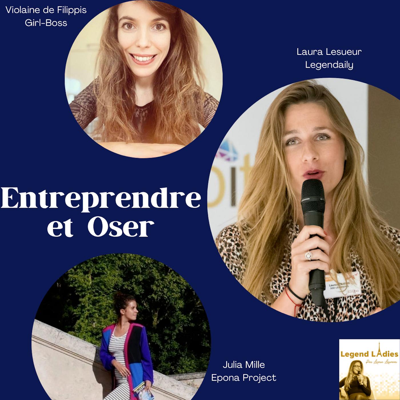 HORS SÉRIE: Conseils pour entrepreneures et intrapreneures Girl-Boss X Epona X Legendaily