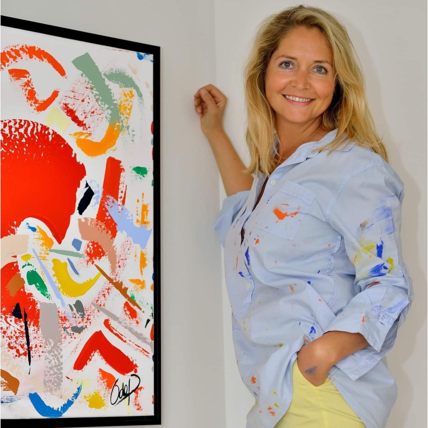 ☀️ SUMMER EDITION ☀️ REDIFFUSION: Olivia de Posson: De la finance de marché à Londres au métier d'artiste peintre