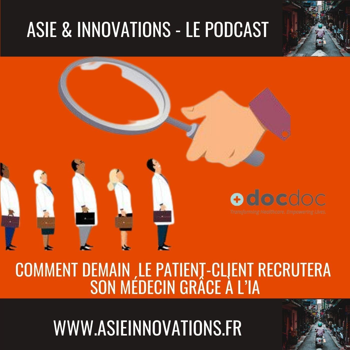Comment demain le patient -client recrutera son médecin grâce à une IA