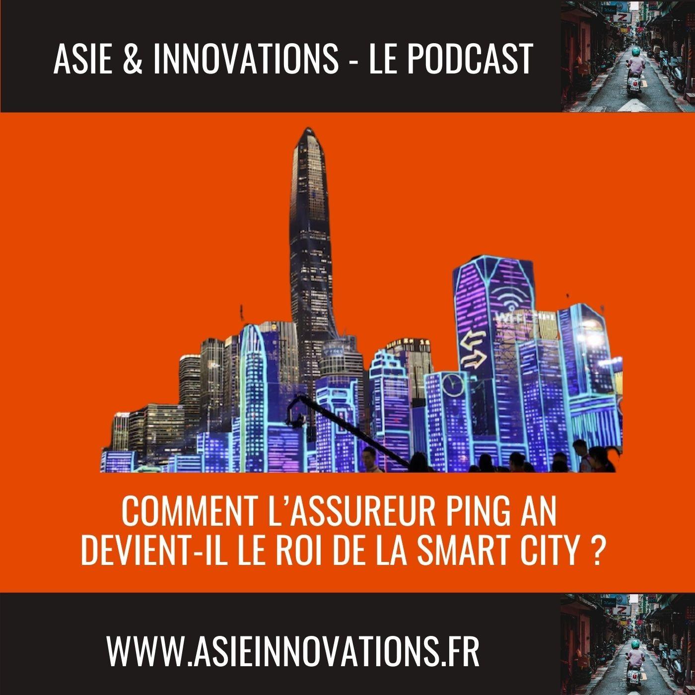 Comment l'assureur Ping An devient-il le roi de la Smart City ?