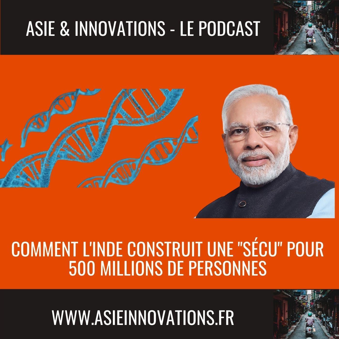 """Comment l'Inde construit une """"sécu"""" pour 500 millions de personnes"""