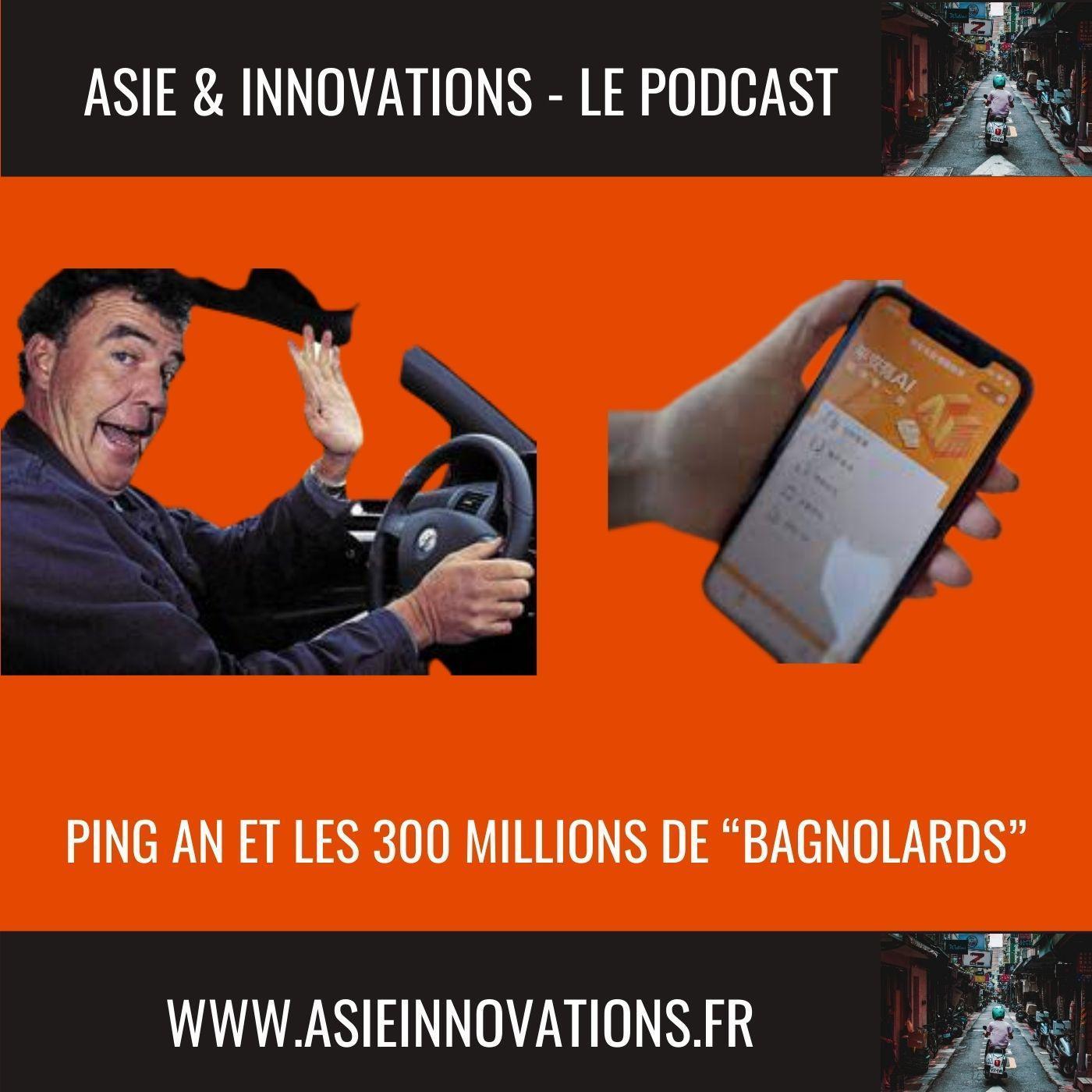 """Ping An et les 300 millions de """"bagnolards"""""""