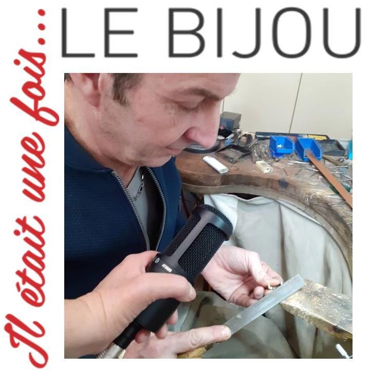Amour des bijoux #2 les voix de l'atelier de joaillerie. Itv de Marc Lauer, fondateur des Ateliers du Créateur
