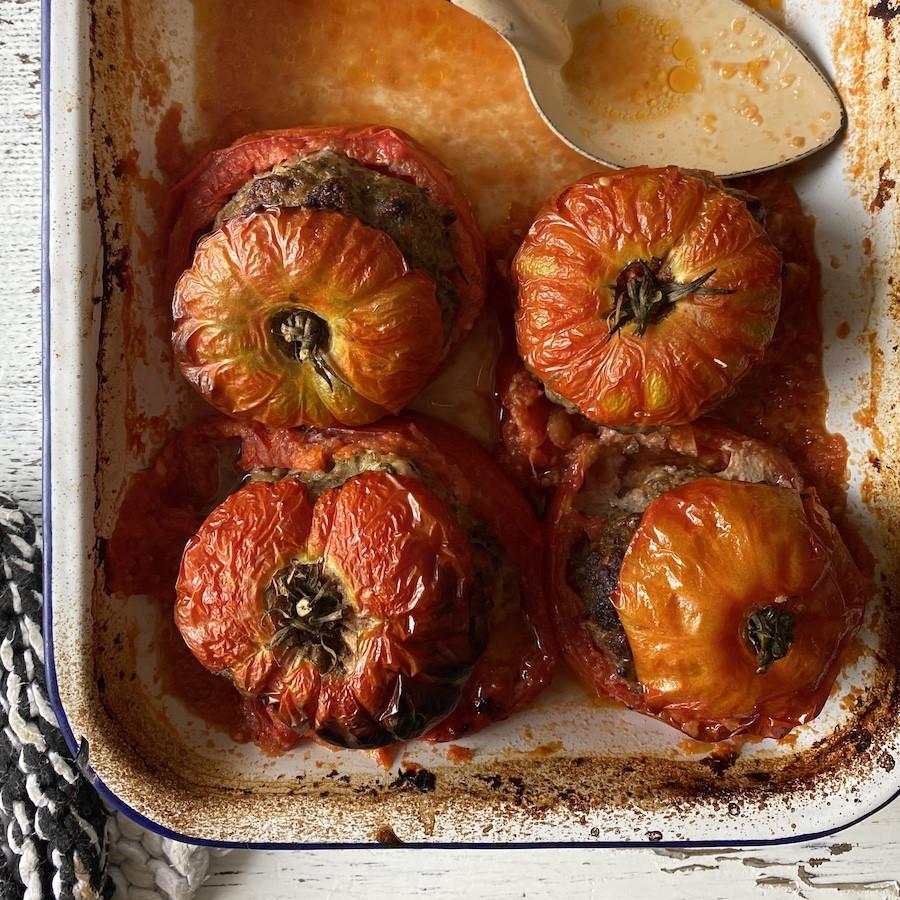 #16 Avec les dernières tomates de la saison, on fait des tomates farcies