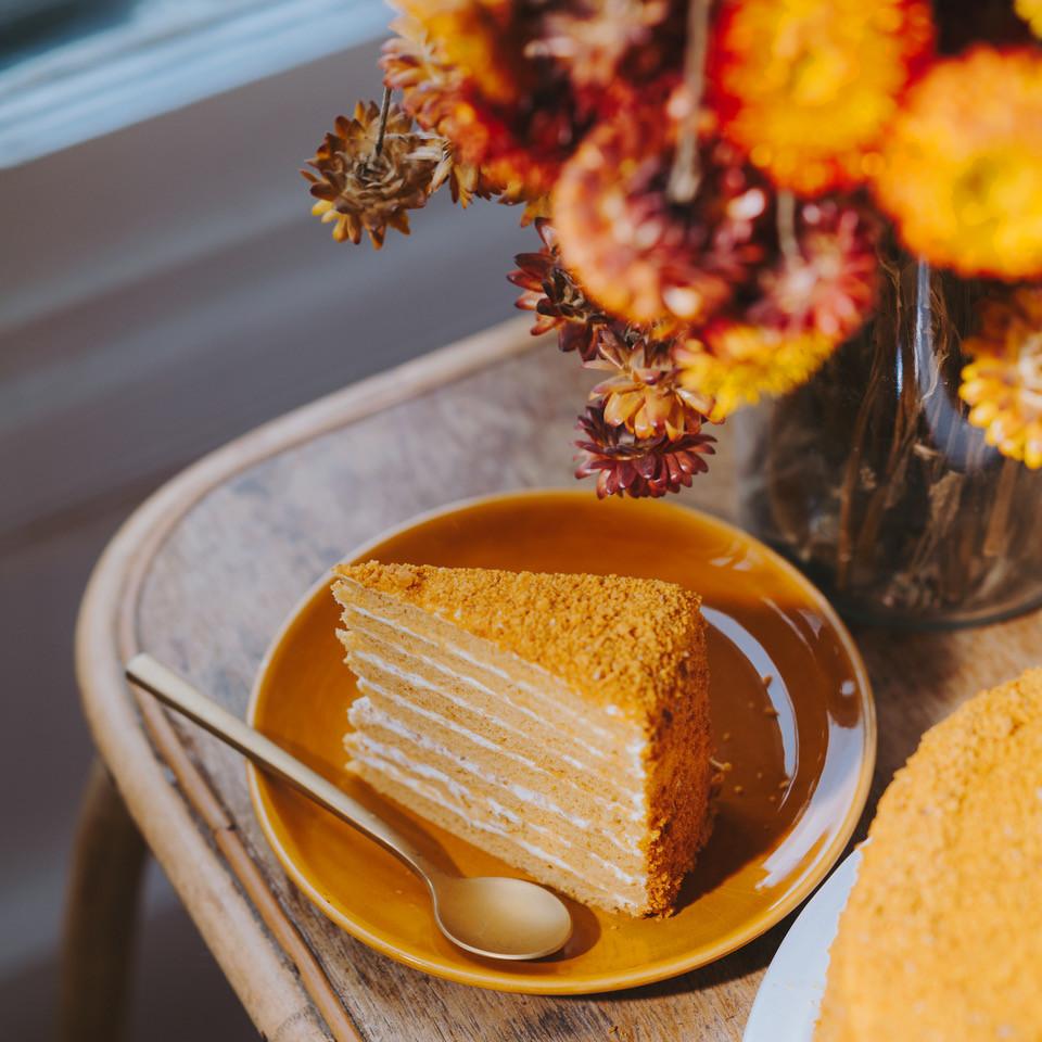 #17 Le gâteau au miel de ma voisine russe Elena