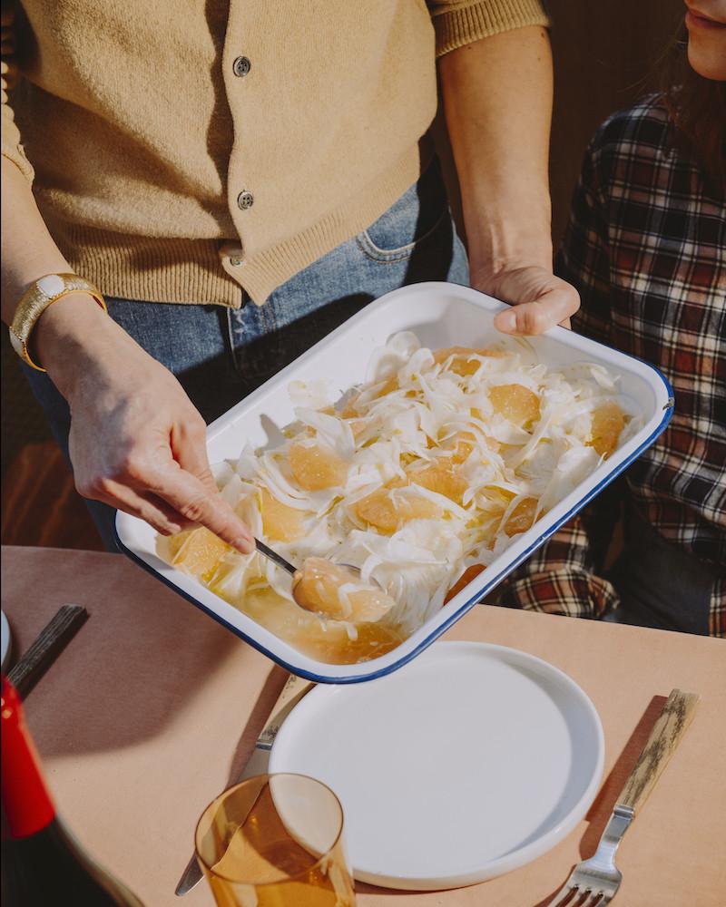#2 Plus légère qu'un cassoulet, la salade de fenouil au pamplemousse
