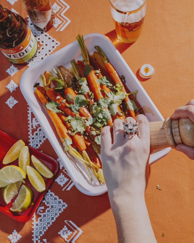 #4 Quand c'est pas la saison des tomates, on fait la recette des carottes rôties