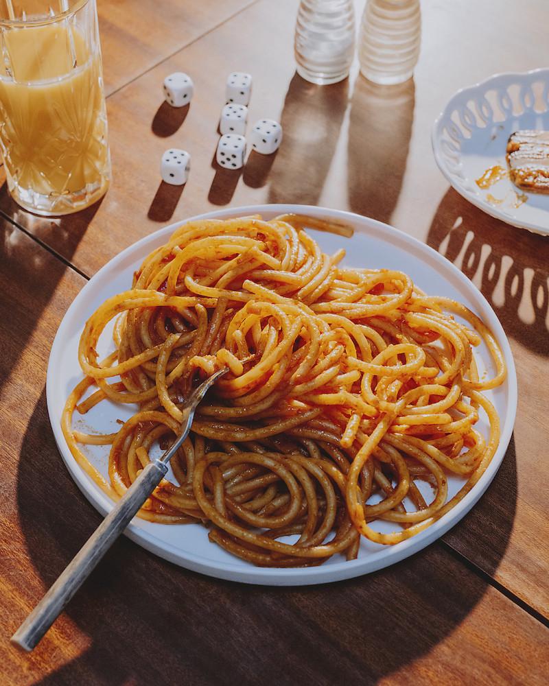#5 La recette de la loose : les bucatini à la tomate