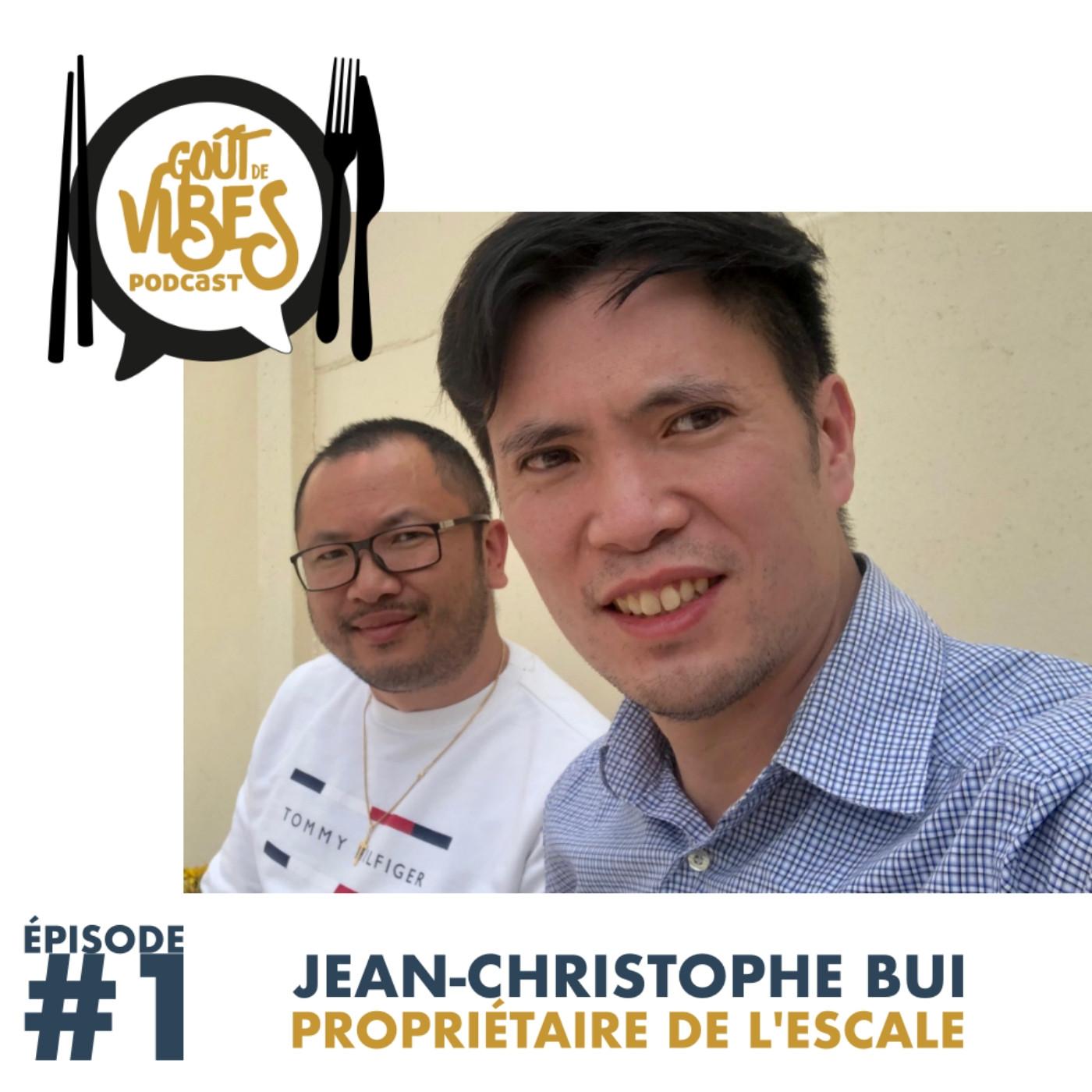 (#1) Jean-Christophe Bui, propriétaire du café-restaurant L'Escale de Jossigny