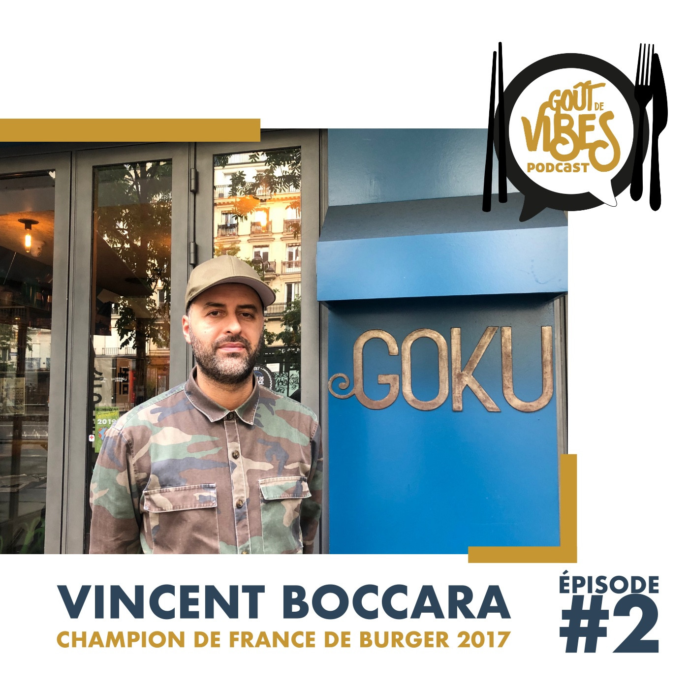 (#2) Vincent Boccara, champion de France de Burger 2017