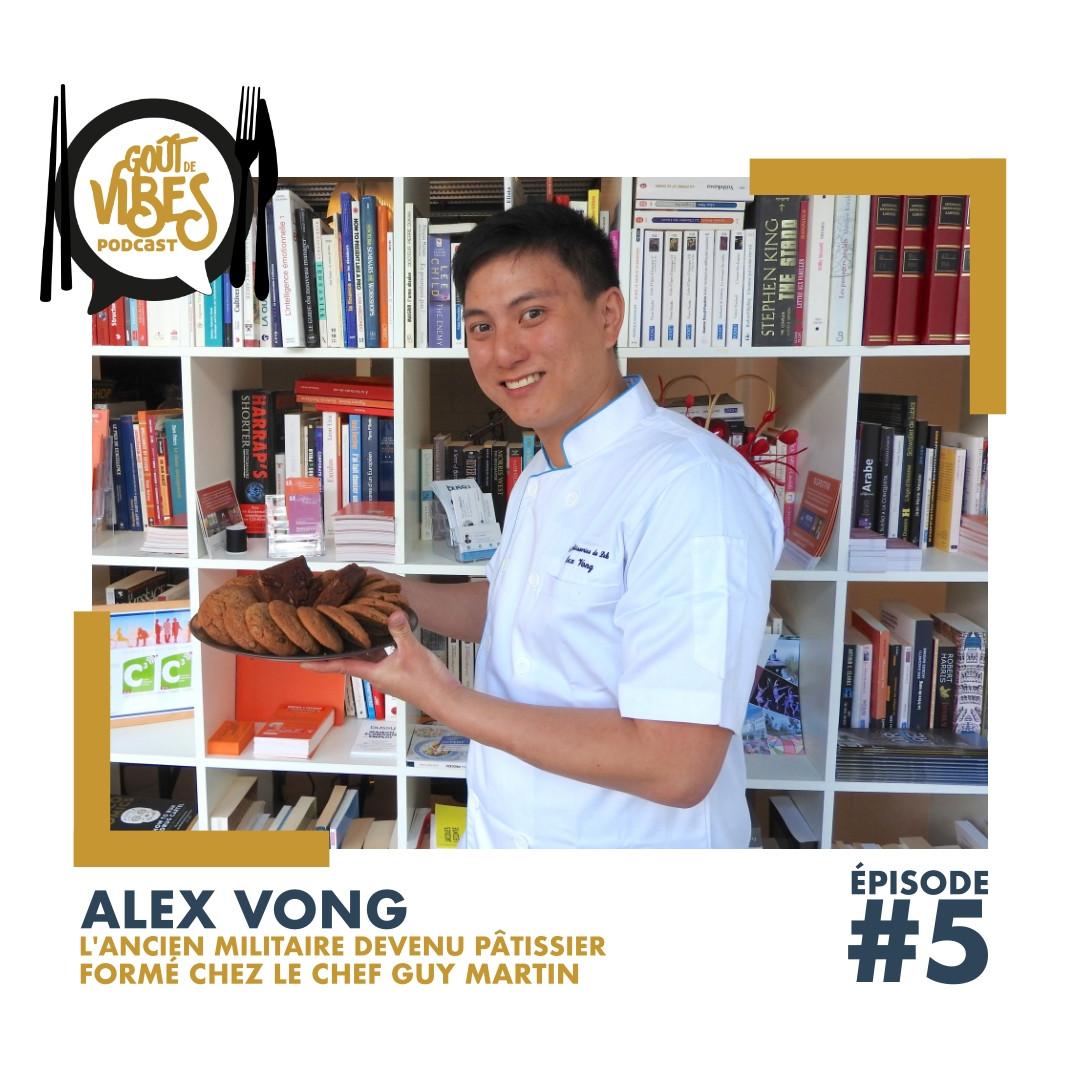 (#5) Alex Vong, pâtissier formé à l'école Ferrandi et chez Guy Martin
