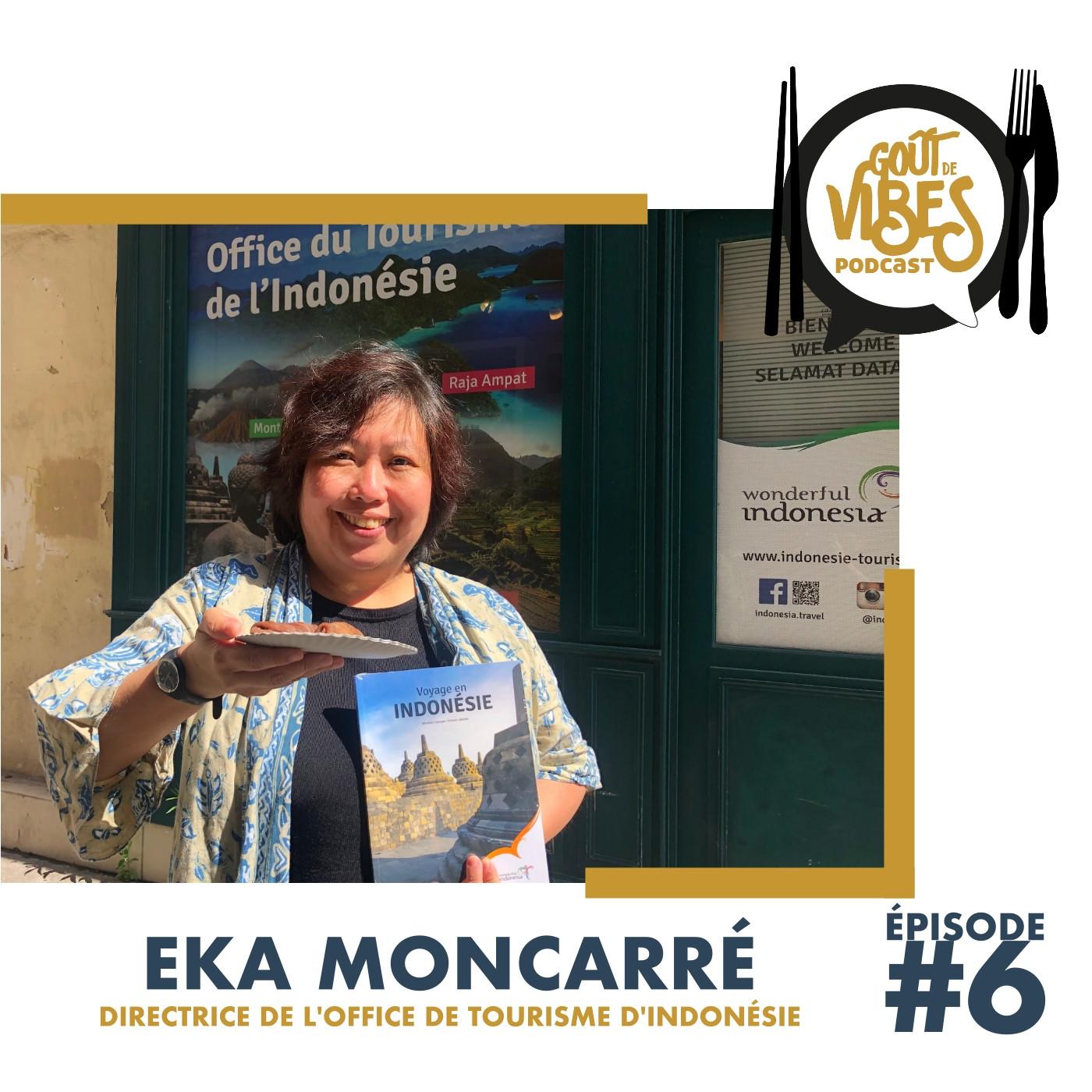 (#6) Eka Moncarré,  directrice de l'office de tourisme d'Indonésie