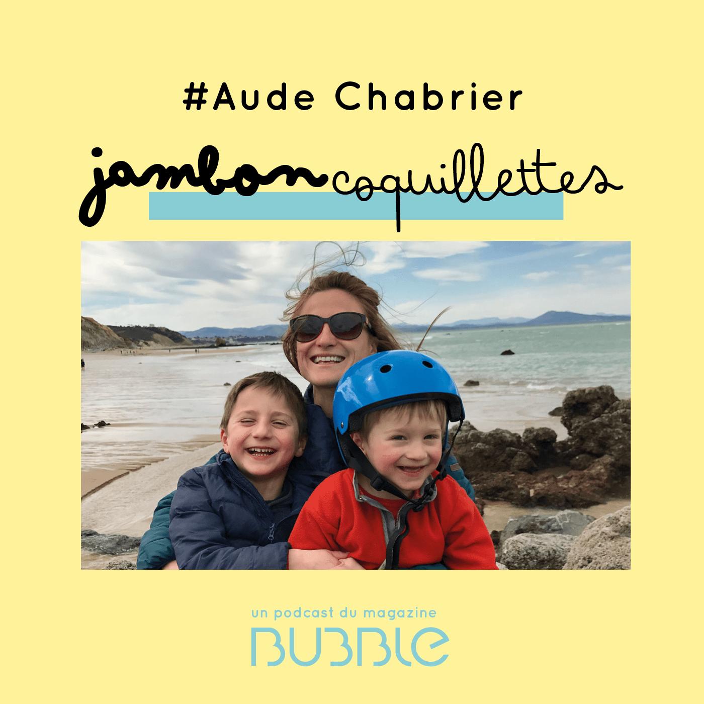 Aude Chabrier, cofondatrice du magazine Bubble et formatrice Faber et Mazlish