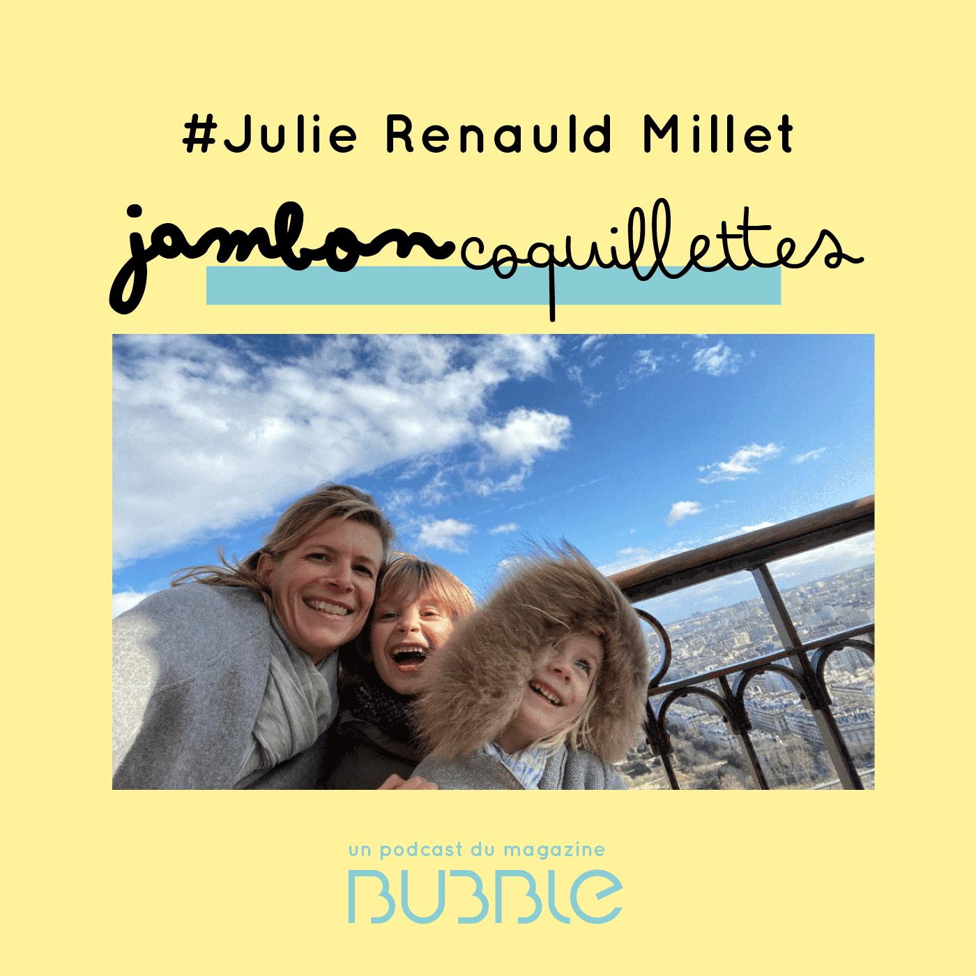 Le sommeil des enfants avec Julie Renauld-Millet maman, thérapeute et auteure