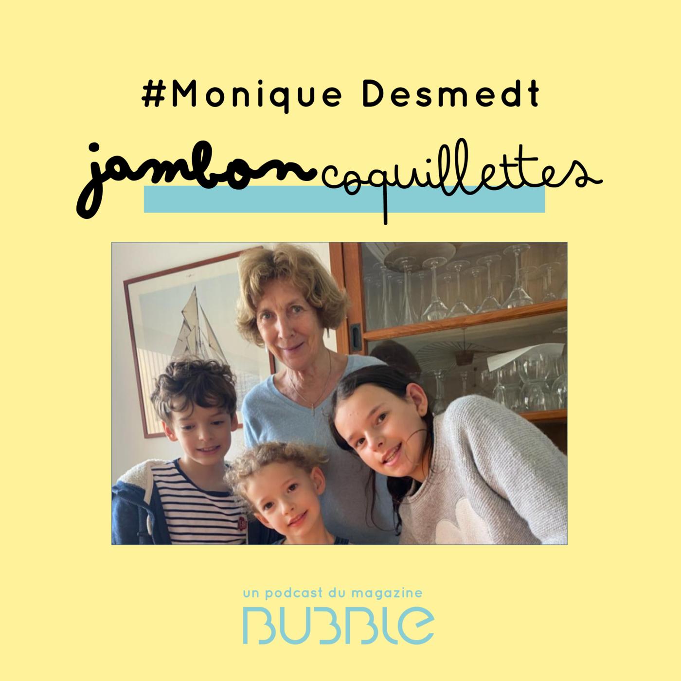 L'art d'être grand-parent, avec Monique Desmedt, grand-mère, psychologue et médiatrice.