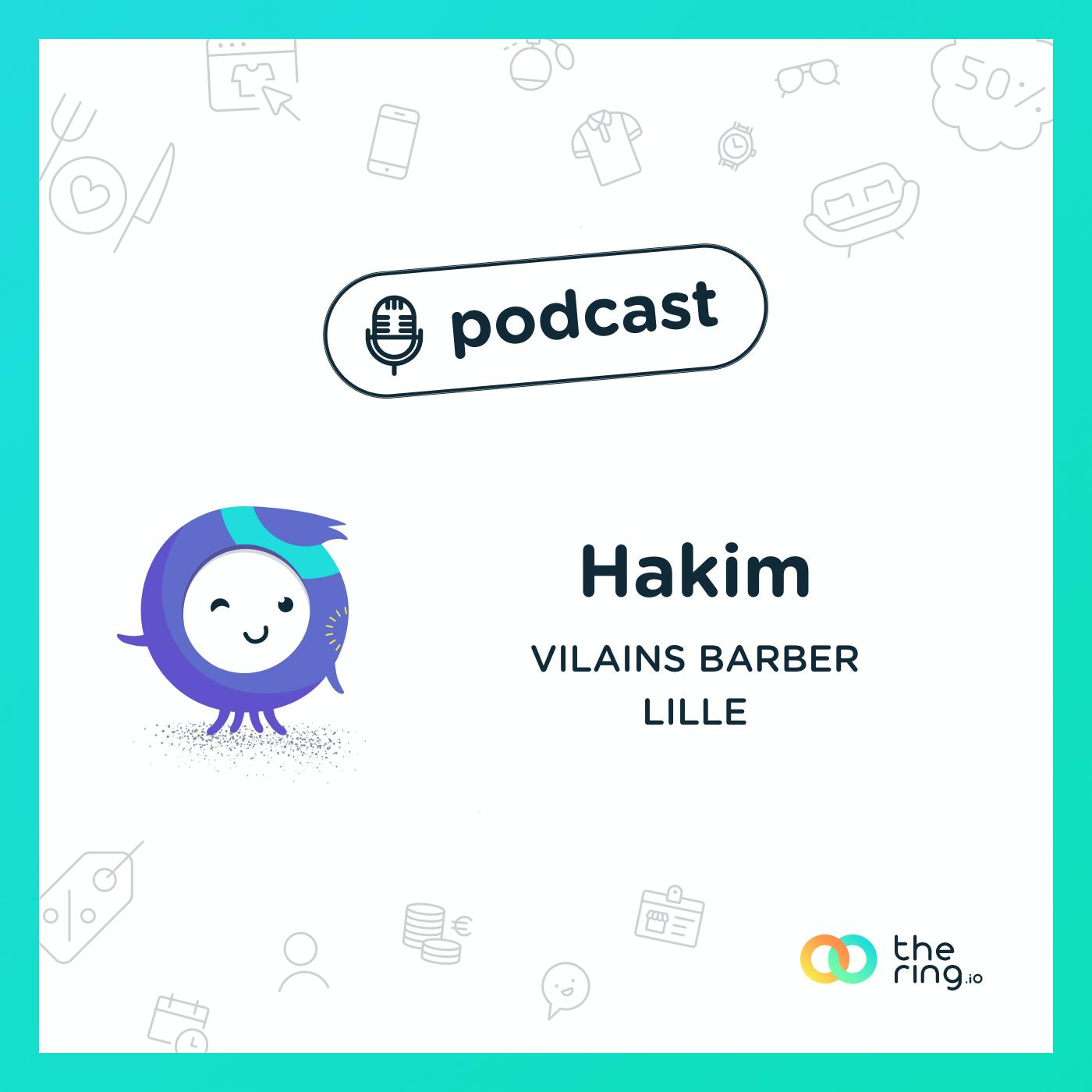 Hakim des Vilains Barber, Lille : bien plus qu'un coiffeur barbier !