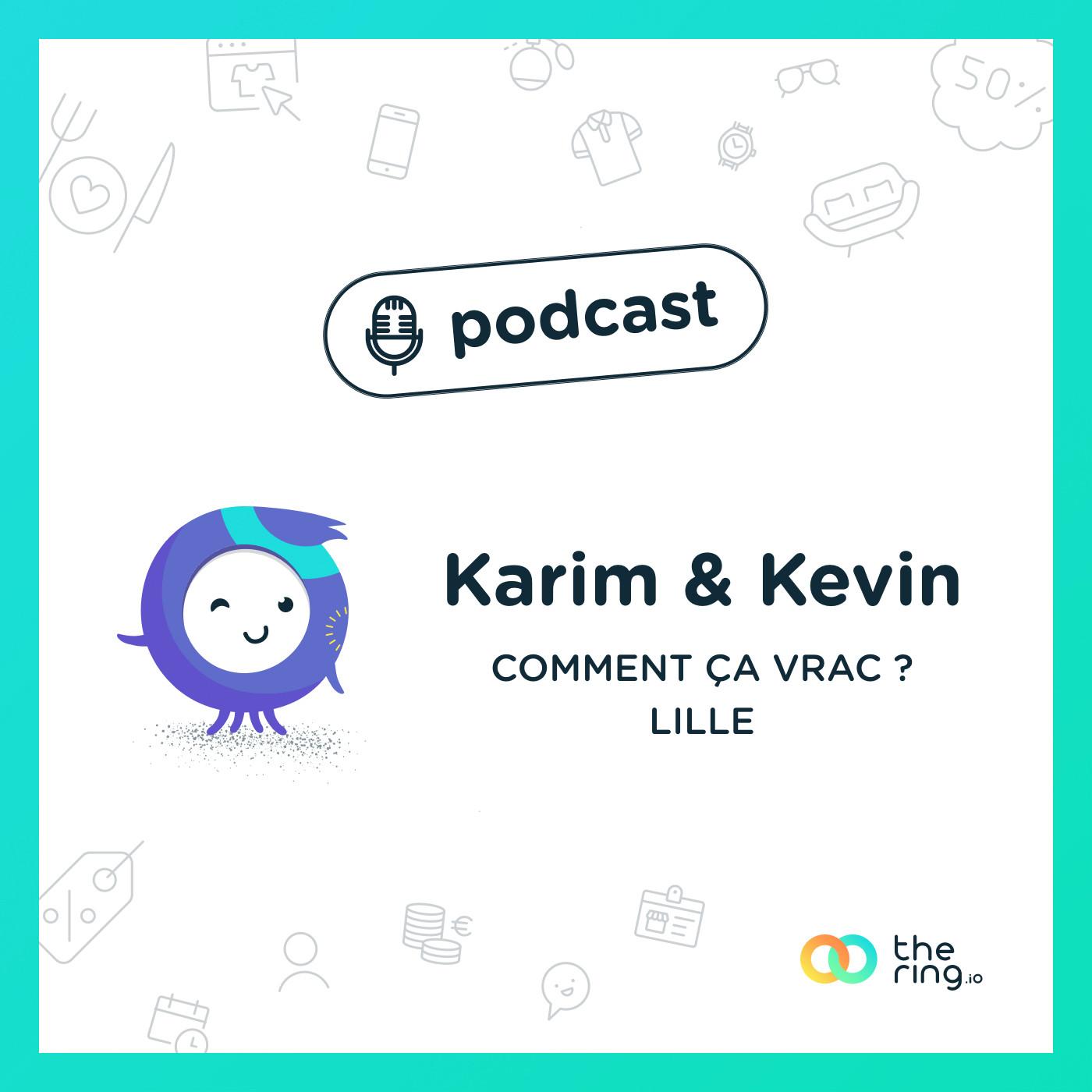 Karim et Kévin de Comment ça vrac ? à Lille : épicerie bio & mobile