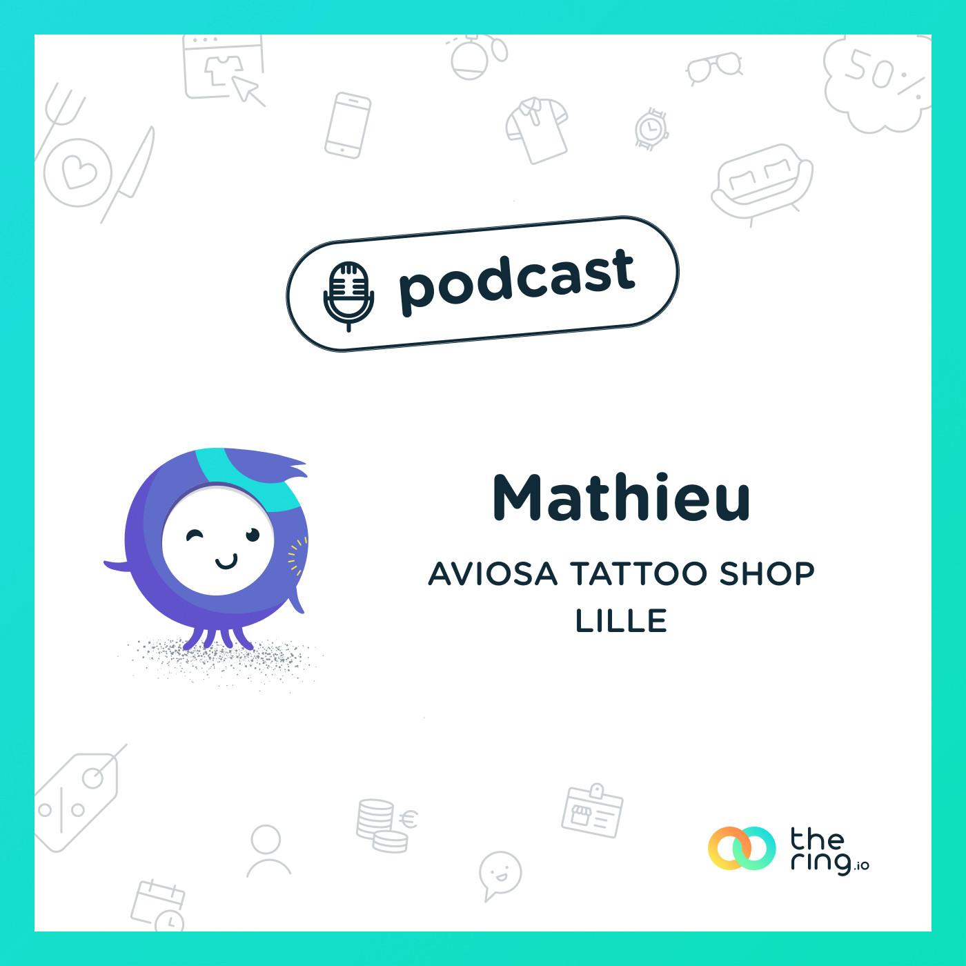 Mathieu de Aviosa Tattoo Shop à Lille : Réconcilier tatouage et art