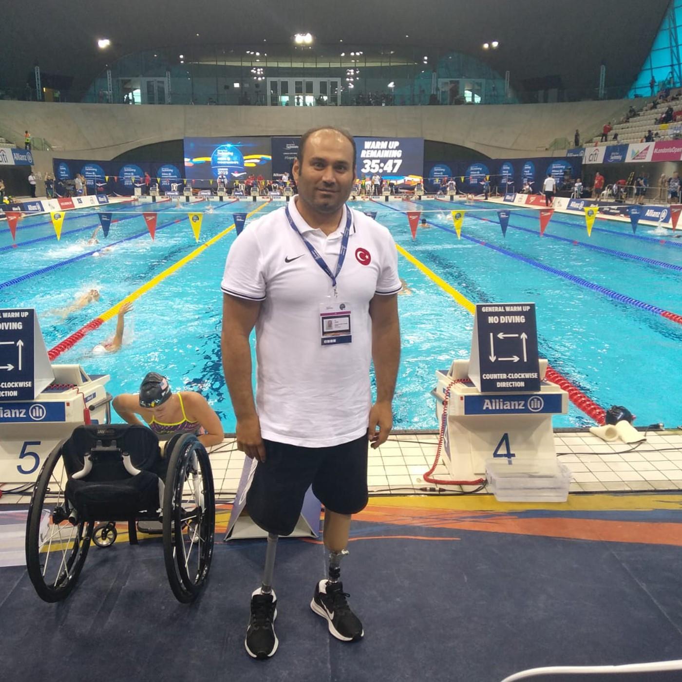 Ali Uzun - Paralimpik Milli Yüzücü-Antrenör